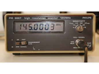 PM 6667 high resolution counter
