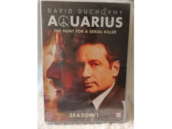 AQUARIUS - THE HUNT FOR SERIAL KILLER (Säsong 1 ) Dvd.