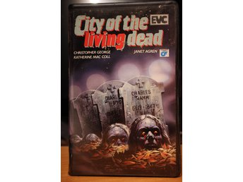 City Of The Living Dead - EX-Rental, Holland, EVC, Lucio Fulci, VHS
