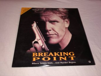 Breaking point - Gary Busey - 1st Laserdisc