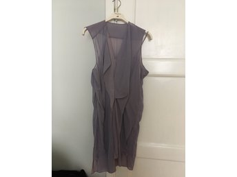 Acne Alexis contrast dress klänning i stl. 36