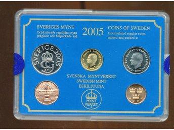 2005 Hp Myntset Från myntverket - Västra Frölunda - 2005 Hp Myntset Från myntverket - Västra Frölunda