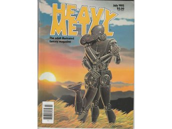 HEAVY METAL ADULT FANTASY MAGAZINE JULY 1982