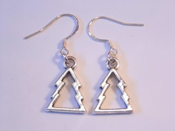Julgran örhängen / Christmas tree earrings