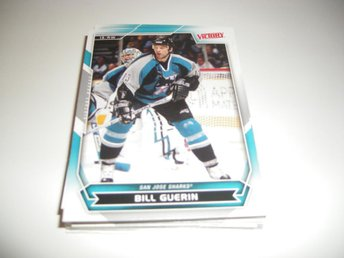 UD Victory 07/08 #177 Bill Guerin - San Jose Sharks