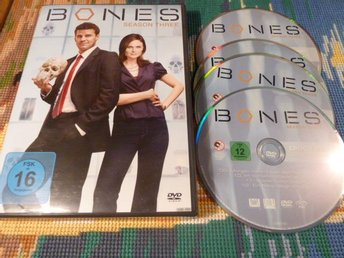 BONES, SEASON THREE, DVD, FILM