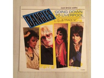 "BANGLES - GOING DOWN TO LIVERPOOL. (12"" MAXI SINGEL)"
