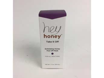 Hey Honey, Ansiktsmask, Exfoliating Honey Peel Off Mask