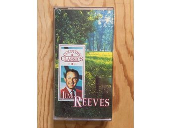 JIM REEVES - COUNTRY CLASSICS - 65 LÅTAR - KASSETTBOX I TOPPSKICK