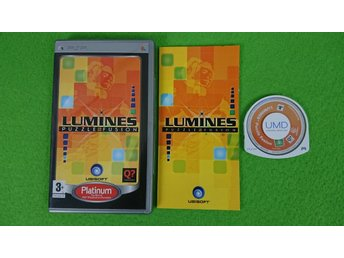 Lumines Puzzle Fusion Psp Playstation Portable Playstation Portable PSP