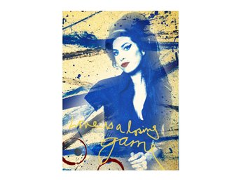 Amy Winehouse RockArt