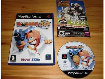 PS2: Worms 3D