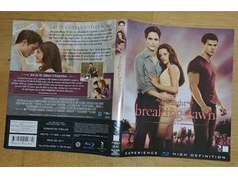 The Twilight Saga: Breaking Dawn - Part 1 (Kristen Stewart) 2011 - Blu-Ray