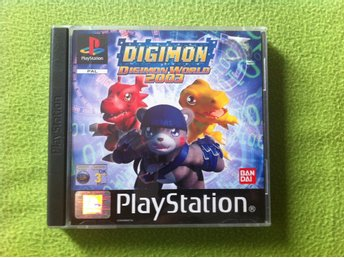 Digimon World 2003 komplett till PlayStation PS1