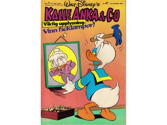 Kalle Anka & Co nr. 47 18:e November 1985 Walt Disney´s