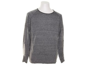 Selected Homme, Tröja, Strl: L, Shclash Wool Crew Neck I, Grå