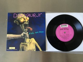 DINOSAUR JR / VÄLDIGT RARE VINYL SINGEL / LIMITED EDITION / NUMBERED / POSTER.