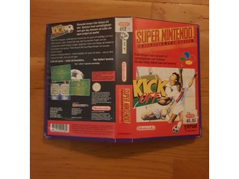 Kick Off - Hyrbox - Super Nintendo Yapon SNES