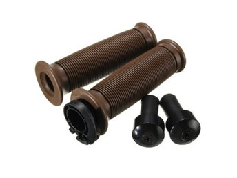 Motorcycle 7/8 Inch Handlebar Grips With Bar End For Cafe...