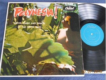 THE ROYAL POLYNESIANS - Polynesia!, Capitol LP USA 1954