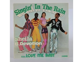 Sheila & B. Devotion - Singing in the rain LP