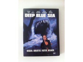 Deep blue sea - Dvd - Utgått! - Region 2 / Svensk text - Nyköping - Deep blue sea - Dvd - Utgått! - Region 2 / Svensk text - Nyköping