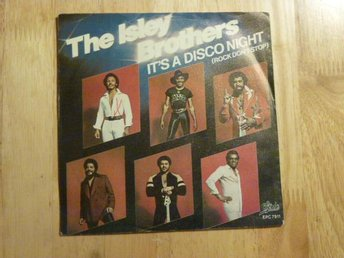 "ISLEY BROTHERS - It's a disco night 7"" singel"