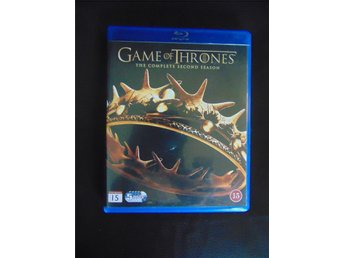Game of Thrones, säsong 2, svensk Blu-Ray