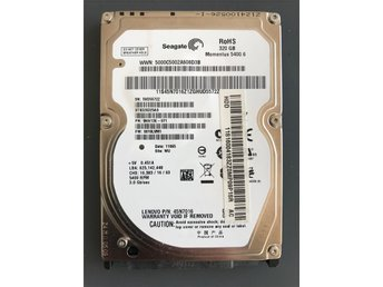 "Seagate Momentus 5400.6 320GB Internal 5400RPM 2.5"" (ST9320325AS) HDD"