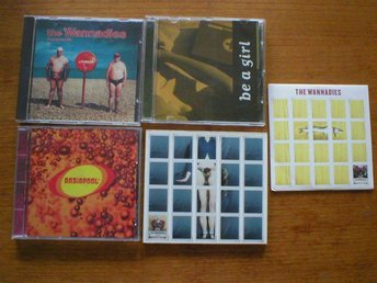 WANNADIES 2 ST CD + 2 ST CDS + BRAINPOOL CD