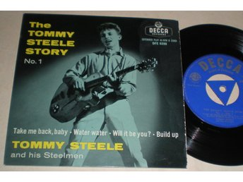 Tommy Steele EP/PS Story No 1 UK 1957 VG++