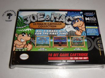 Joe & Mac Collection SNES