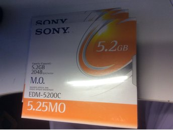 SONY MO disk