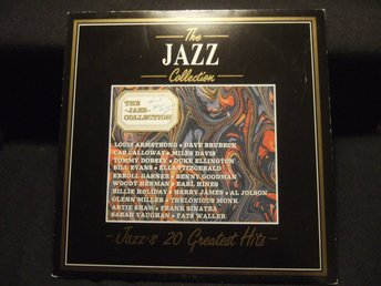 LP - LOUIS ARMSTRONG m fl. Jazz´s 20 Greatest Hits. 1986