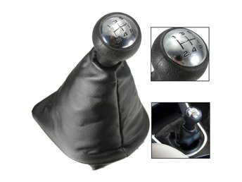 5 Speed Gear Shift Gaiter Knob For PEUGEOT 207 307 406 Bl...