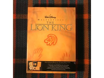 THE LION KING Exclusive Deluxe Video Edition VHS 1994 Walt Disney Lejonkungen
