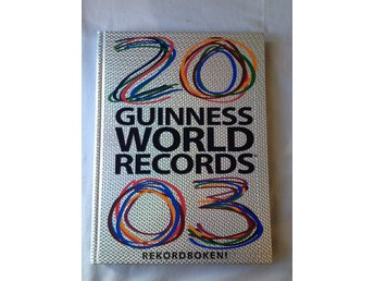 HELT NY! Guinness world records 2003 Rekordboken