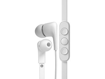 A-JAYS FIVE FOR WINDOWS AND ANDROID Vit Hörlurar In-ear Headset Headphones Nya