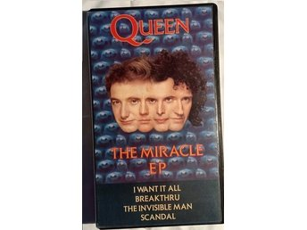 Queen The Miracle EP VHS