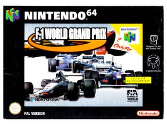 F-1 World Grand Prix - Nintendo 64