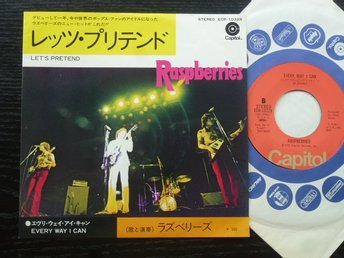 RASPBERRIES - Let's pretend  Capitol Japan -72