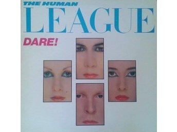 The Human League titel* Dare! SWE LP - Hägersten - The Human League titel* Dare! SWE LP - Hägersten