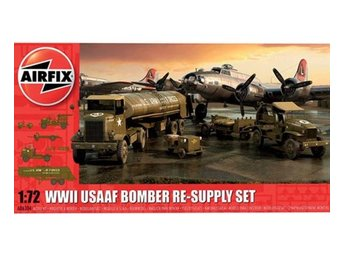 Airfix 1/72 USAAF 8TH Airforce Bomber Resupply Set