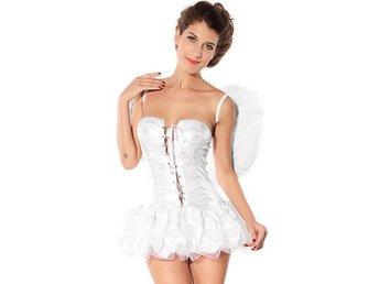 REA! 34/36 - Tru angel vit ängel med vingar Lolita maskerad Halloween - åkersberga - REA! 34/36 - Tru angel vit ängel med vingar Lolita maskerad Halloween - åkersberga