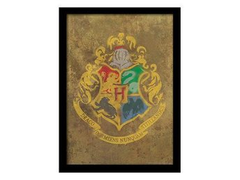 Harry Potter Bild Hogwarts Crest 40 x 30