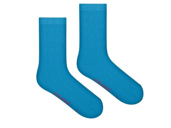 Frank Dandy Bamboo Solid Crew Sock, Blue Sky (41-46)