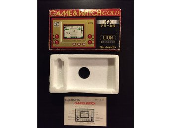 Game & Watch Lion Kartong + Manual