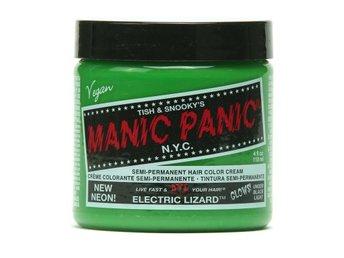 Manic Panic Electric Lizard Tuff Hårfärg Snabb Leverans - Träslövsläge - Manic Panic Electric Lizard Tuff Hårfärg Snabb Leverans - Träslövsläge