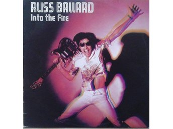 Russ Ballard & Barnet Dogs title* Into The Fire* Netherlands LP