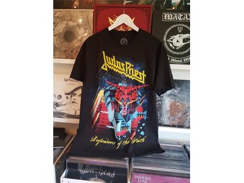 Judas Priest defenders of the faith t-shirt L Ny och oanvänd! Rob Halford